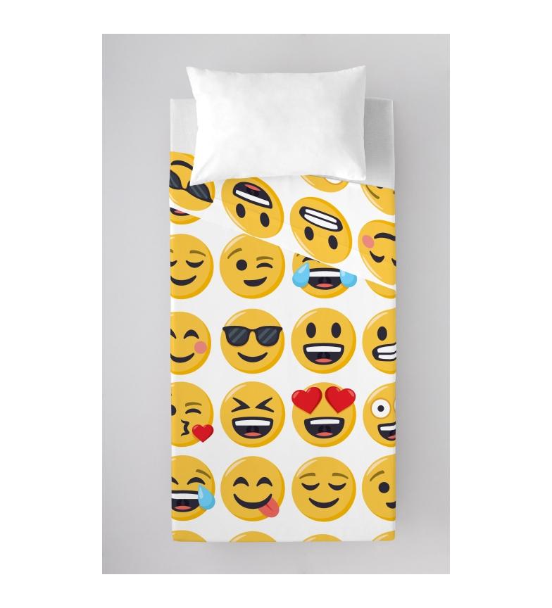Comprar EMOJI Juego de sábanas de 3 piezas Ily -Cama 90 cm-