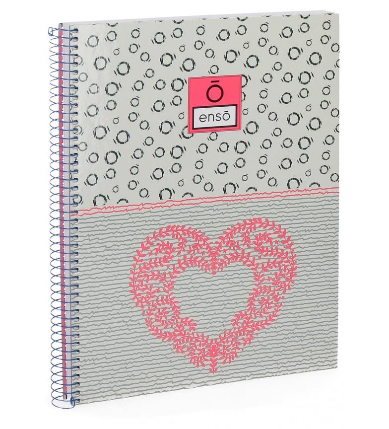 Comprar Enso Cahier Enso Heart -21,5x29cm-