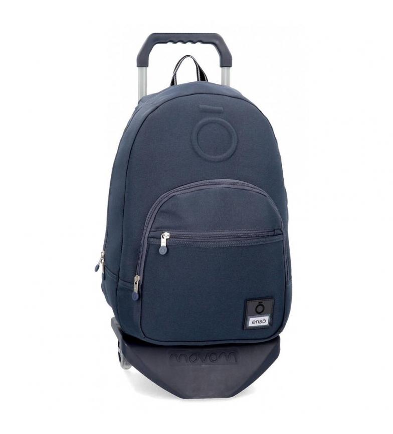 Comprar Enso Sac à dos avec chariot Basic bleu -32x46x15cm