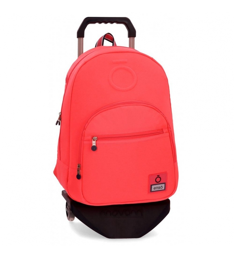 Comprar Enso Backpack with trolley Basic coral -32x46x15cm