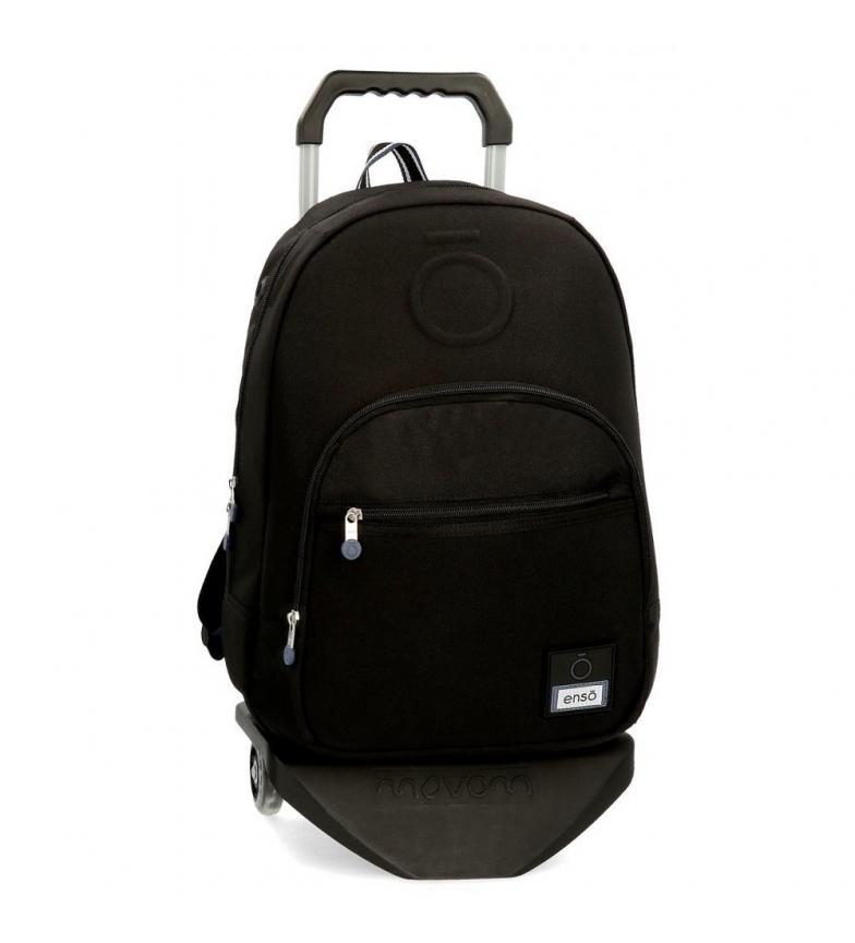 Comprar Enso Mochila con carro Basic negro -32x46x15cm-