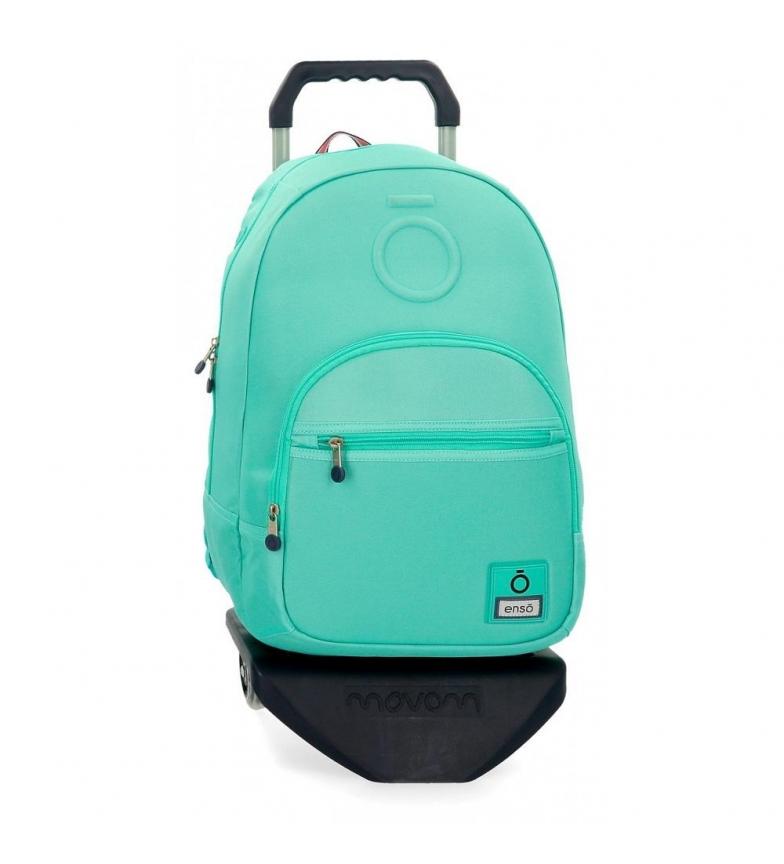Comprar Enso Sac à dos avec chariot Basic turquoise -32x46x15cm