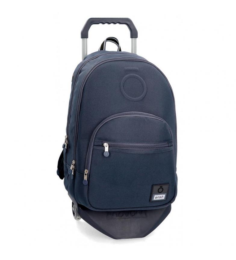 Comprar Enso Mochila com carrinho Basic azul -32x46x46x17cm