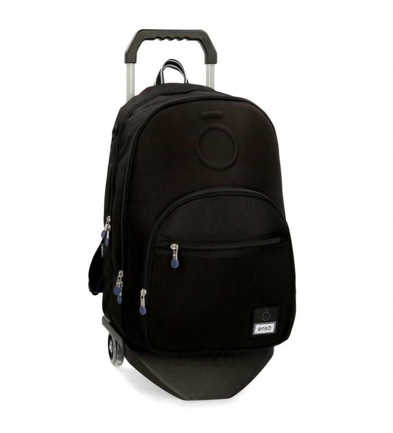 Comprar Enso Backpack with trolley Basic black -32x46x17cm