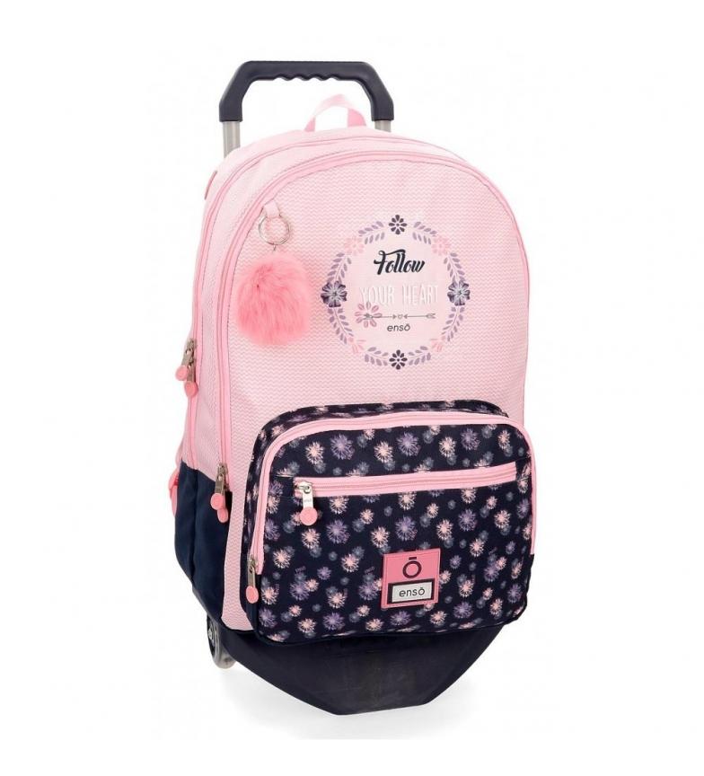 Comprar Enso Daisy backpack with trolley -32x46x17cm