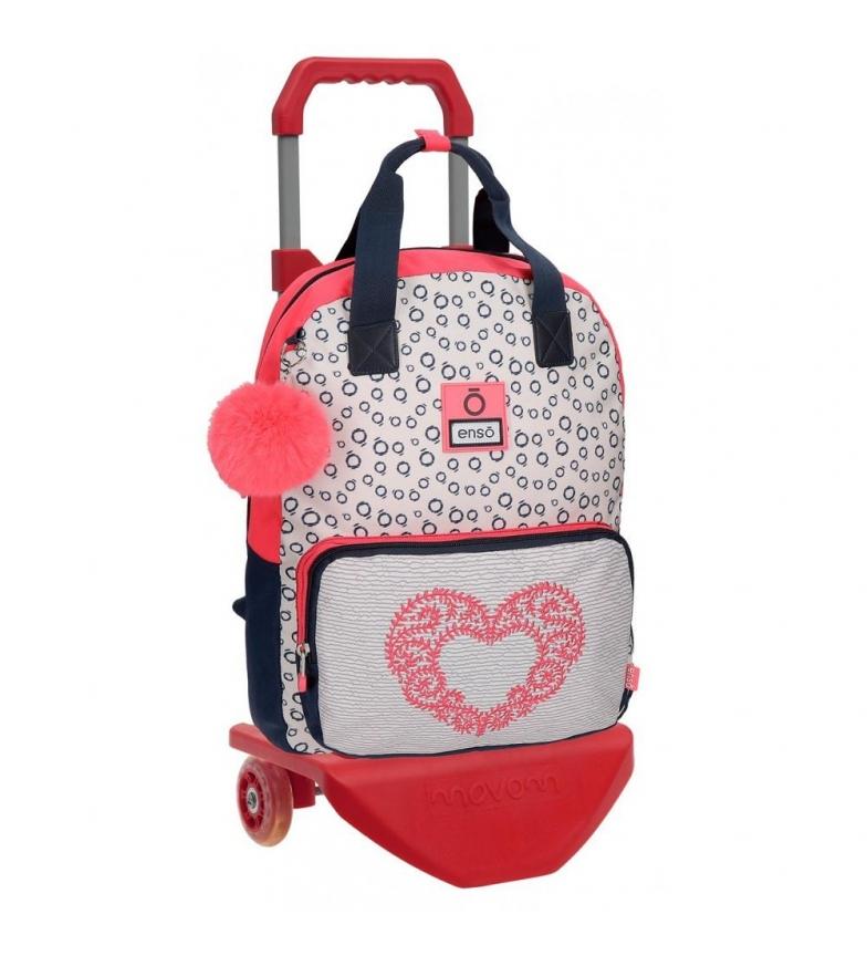Comprar Enso Zaino Enso Heart -30x40x13cm con trolley-