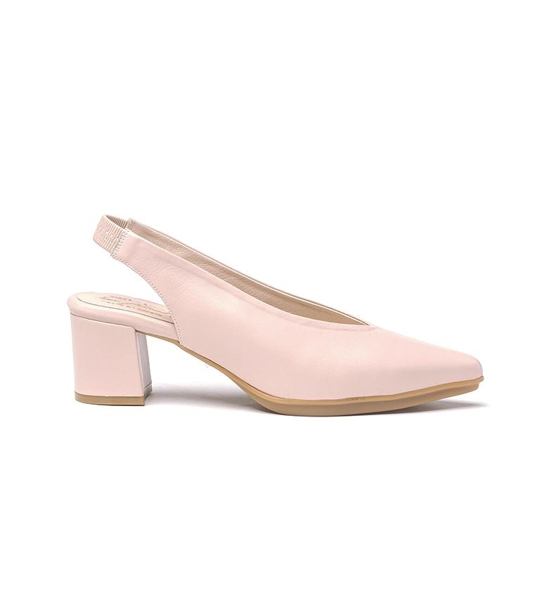 Comprar Eva Mañas Chaussures en cuir 1496 nues - Hauteur du talon : 6,5cm