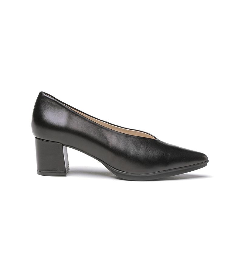 Comprar Eva Mañas Zapatos de piel 1497 negro -Altura tacón: 6,5cm-