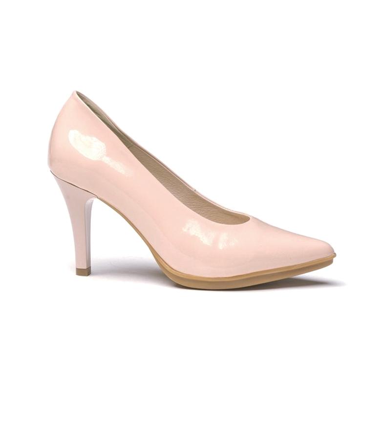 Comprar Eva Mañas Chaussures en cuir 1499 nues - Hauteur du talon : 8,5cm