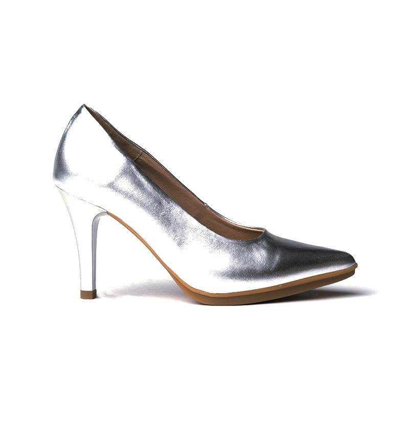 Comprar Eva Mañas Chaussures en cuir 1500 argent -Hauteur du talon : 8,5cm