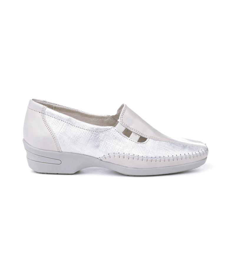 Comprar Eva Mañas Manoletinas en cuir 2716 blanc