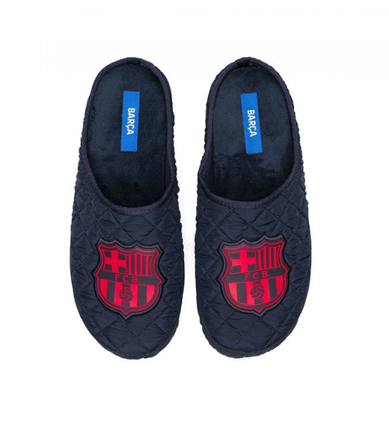 Comprar FC Barcelona Pantoufles CC4M bleu