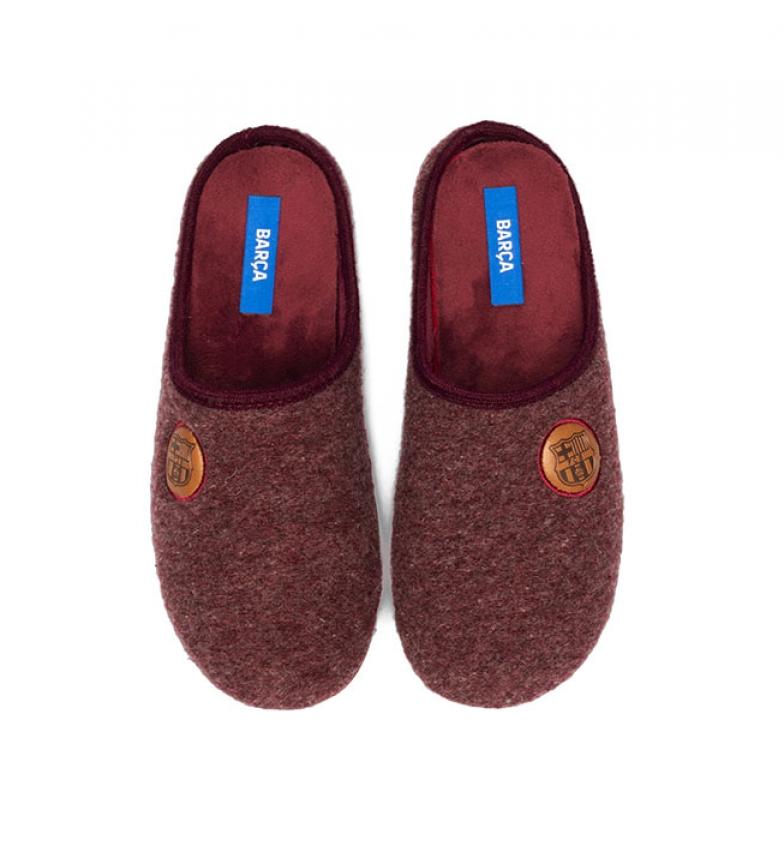 Comprar FC Barcelona Slippers CF1B garnet