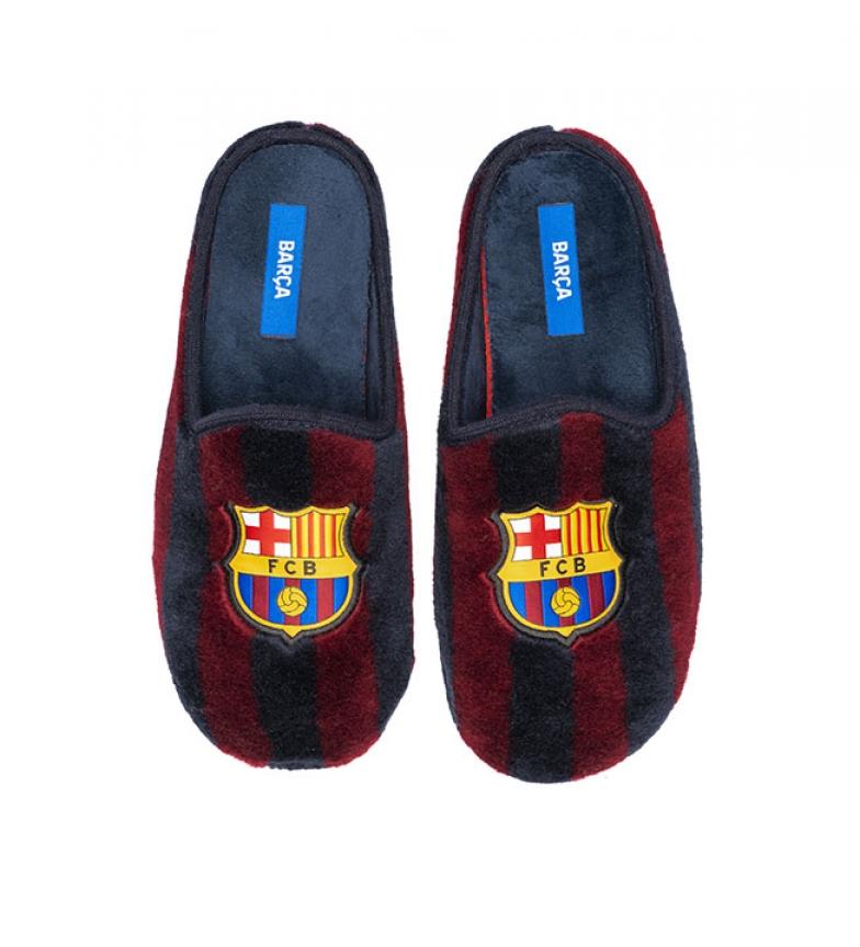 Comprar FC Barcelona Pantofole CFA1 blu e marrone