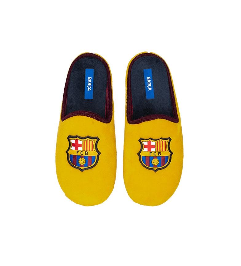 Comprar FC Barcelona Pantofole CFA3A gialle