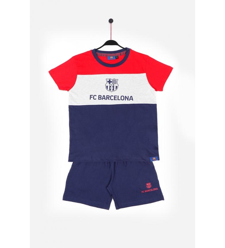 Comprar FC Barcelona Pyjama à manches courtes Ruban rouge
