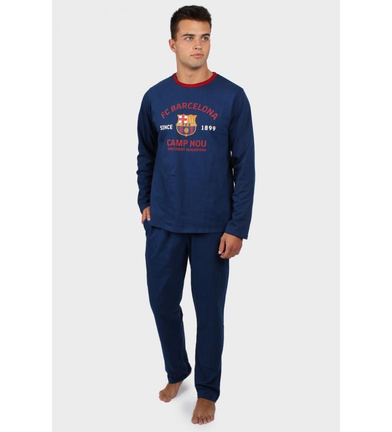 Comprar FC Barcelona Pyjama Manches Longues Camp Nou marine