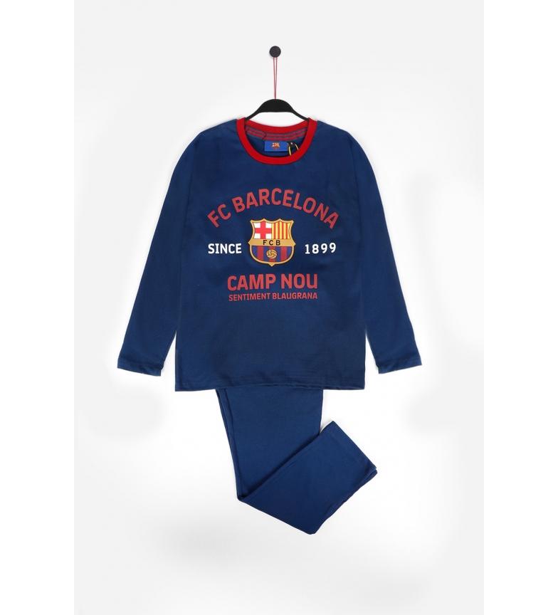 Comprar FC Barcelona Camp Nou Long Sleeve Marine Pajamas