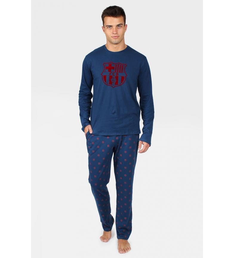 Comprar FC Barcelona Pyjama à manches longues Marine Shield