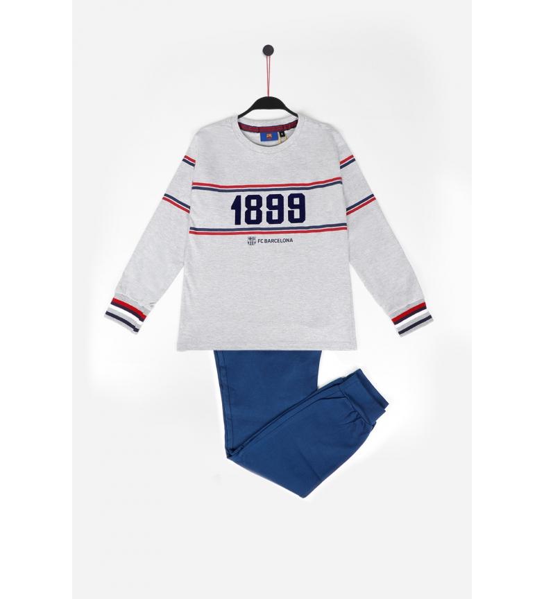 Comprar FC Barcelona Pijama de manga comprida FCB Força gris