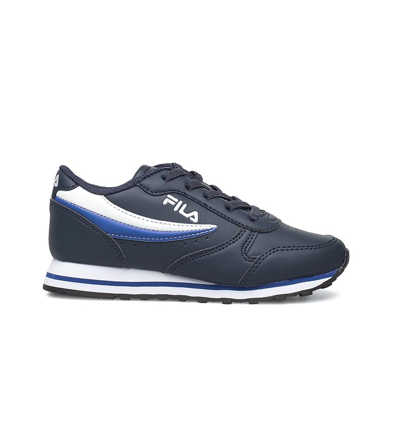 Comprar Fila Chaussures Orbit Low Kids bleu