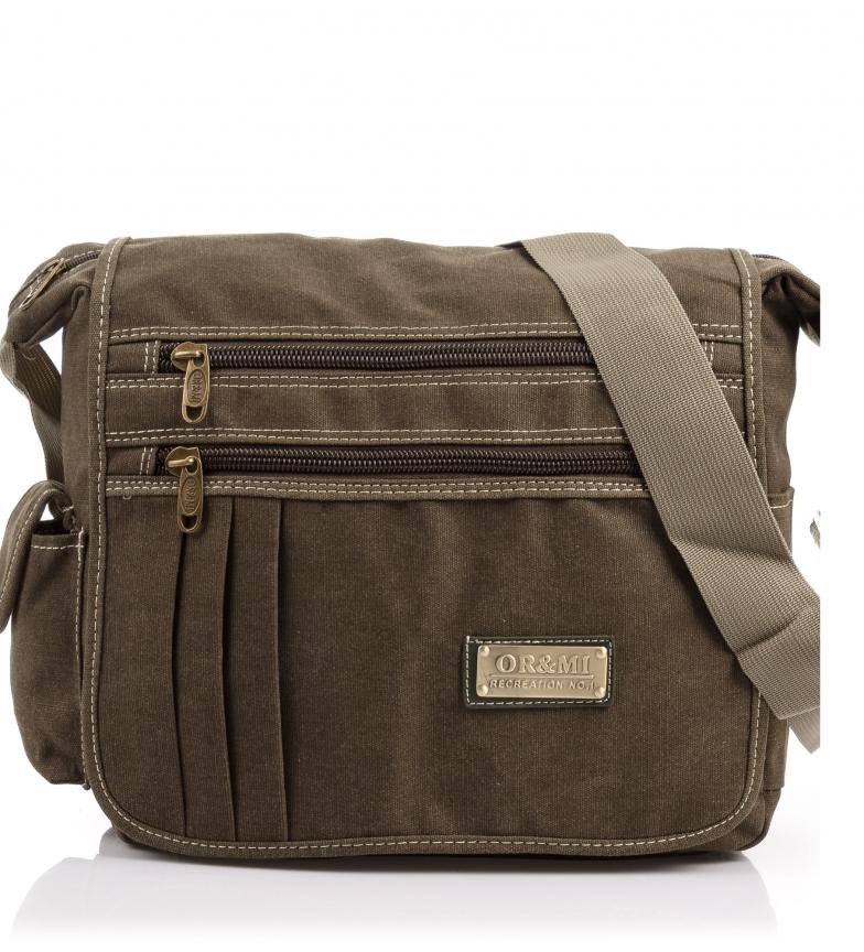 Comprar Firenze Artegiani Persimmon Unisex bag -33x13x32cm-