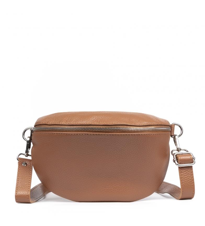 Comprar Firenze Artegiani Bolsa de couro genuíno Ambra em couro Dollaro -25x10x15x15 cm