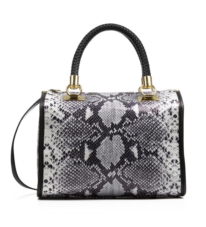 Comprar Firenze Artegiani Catena Handbag tote Genuine leather Chamois Python grey
