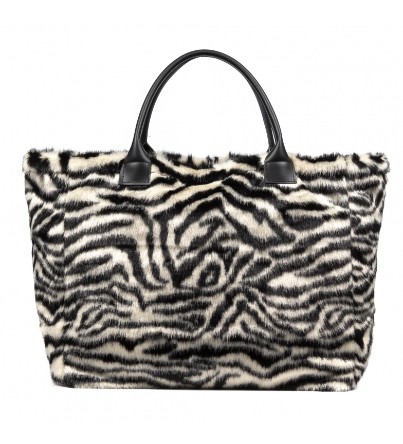 Comprar Firenze Artegiani Zebra groin shopper bag -55x19x35cm
