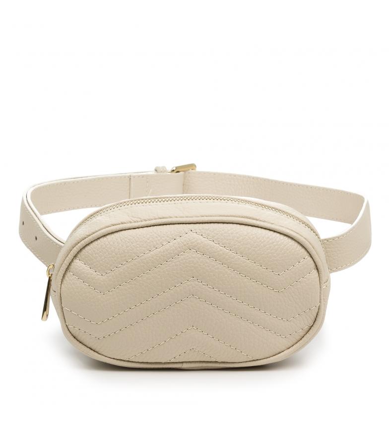 Comprar Firenze Artegiani Orsola Fashion Bum bag Real leather Dollaro beige
