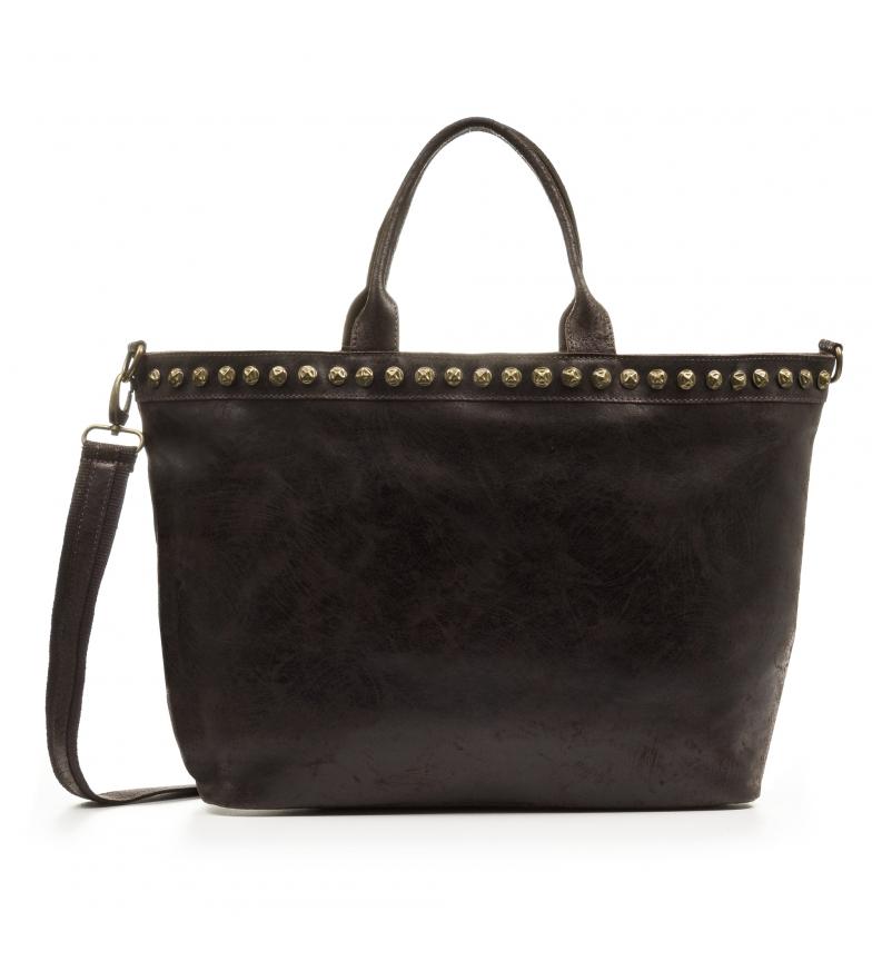 Comprar Firenze Artegiani Placida Shopper Handbag Genuine leather Chamois Stone Washed brown
