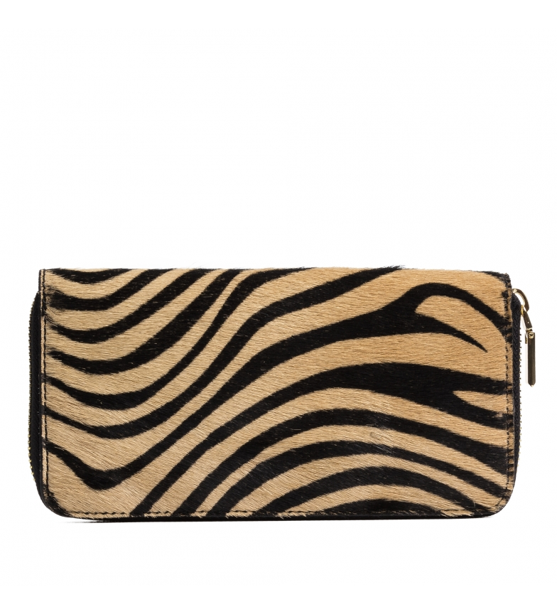 Comprar Firenze Artegiani Stella tiger leather wallet -19x2,5x10,5cm