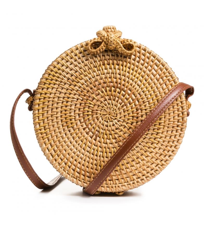 Comprar Firenze Artegiani Saco de ombro castanho Tiziana -20x8x20cm