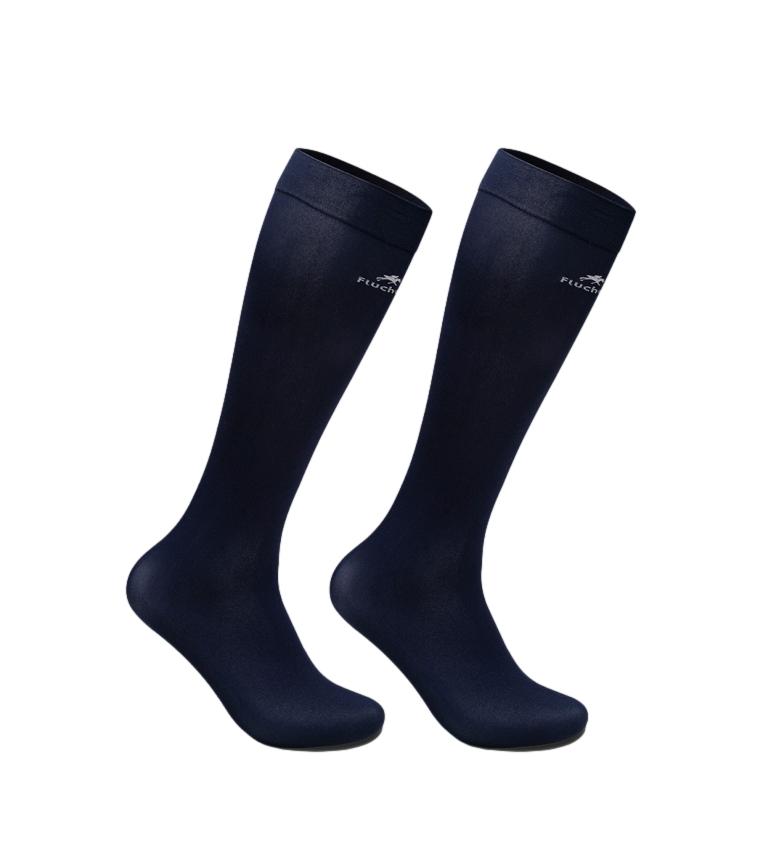 Fluchos Pack of 2 Socks 1007 marine