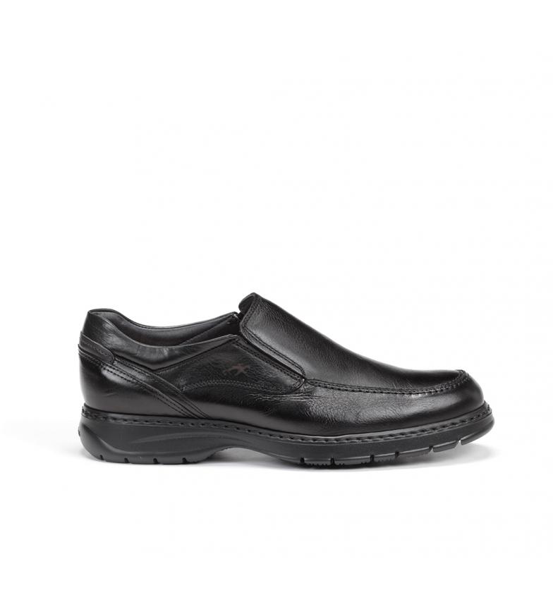 Fluchos Leather shoes 9144 Crono black
