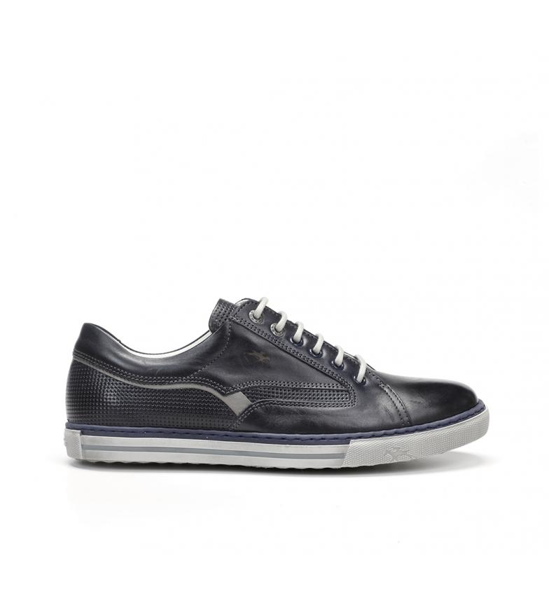 Comprar Fluchos Chaussures en cuir Québec 9372 marine