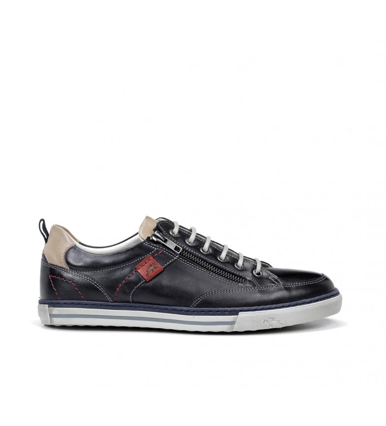 Comprar Fluchos Zapatillas de piel Quebec 9376 marino