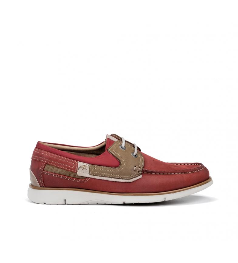 Comprar Fluchos Sapatos gigantes de couro de terracota 9763