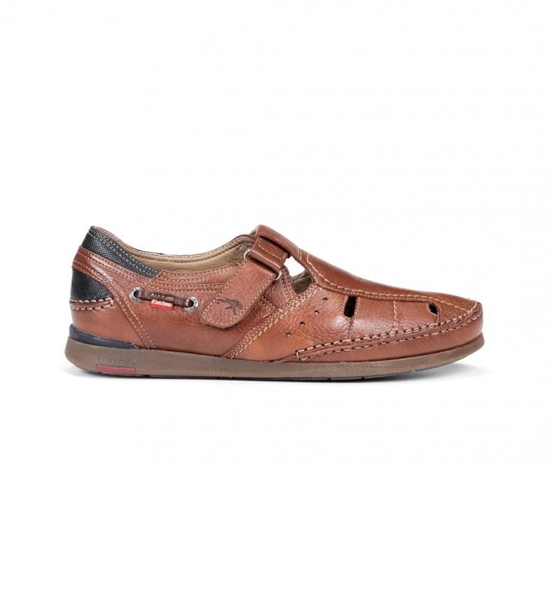 Comprar Fluchos Sandales en cuir Mariner 9882 marron
