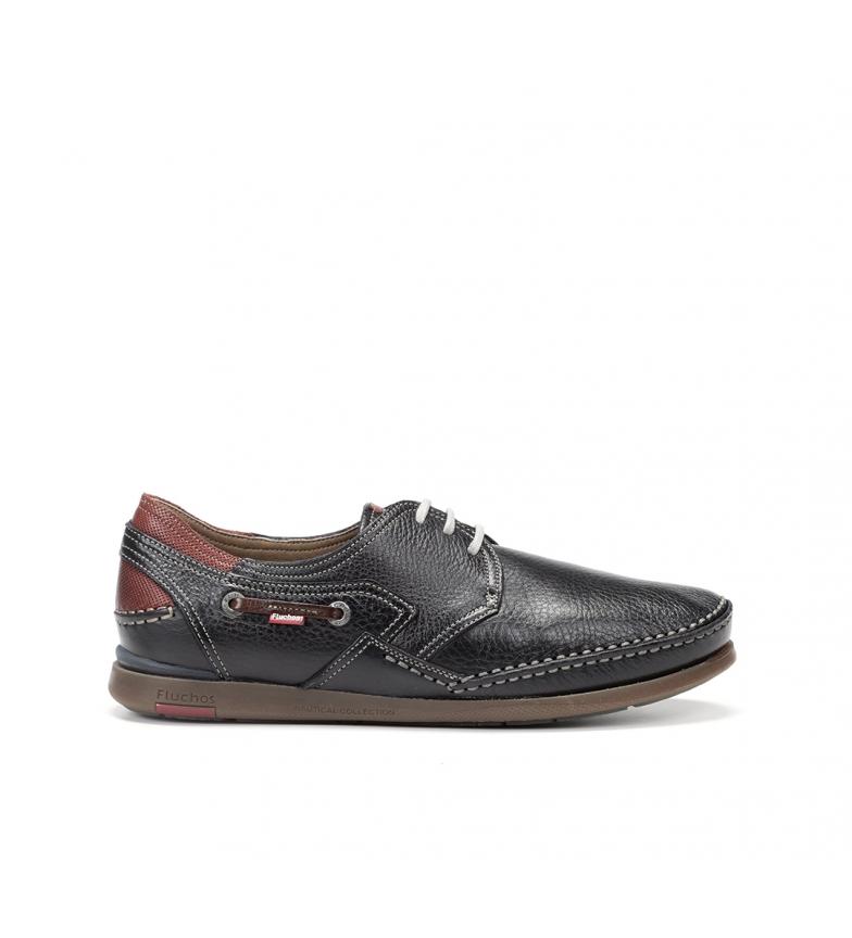Comprar Fluchos Chaussures en cuir Mariner 9884 marine