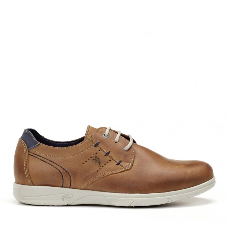 Comprar Fluchos Sapatos de couro Sumatra F0106 castanho
