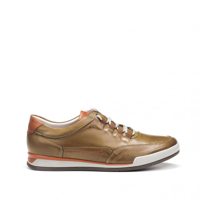 Comprar Fluchos Leather shoes Etna F0146 khaki