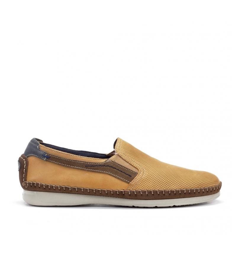Comprar Fluchos Chaussures en cuir F0198 Surf jaune