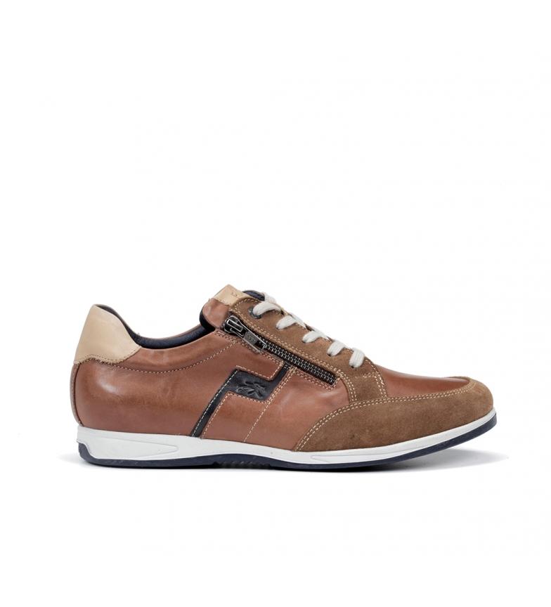 Comprar Fluchos Zapatos de piel Daniel F0207 marrón