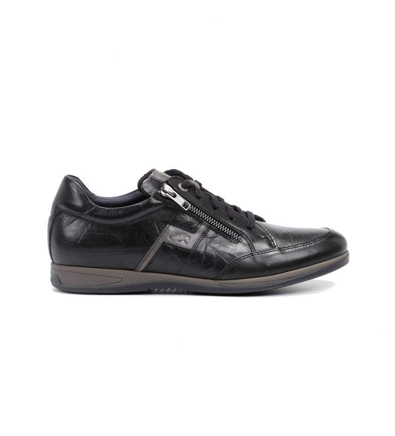 Comprar Fluchos Daniel F0210 chaussures en cuir noir