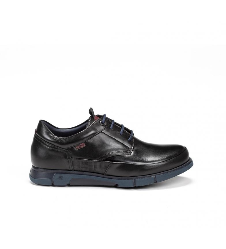 Comprar Fluchos Sapatos de couro Tigre F0402 preto