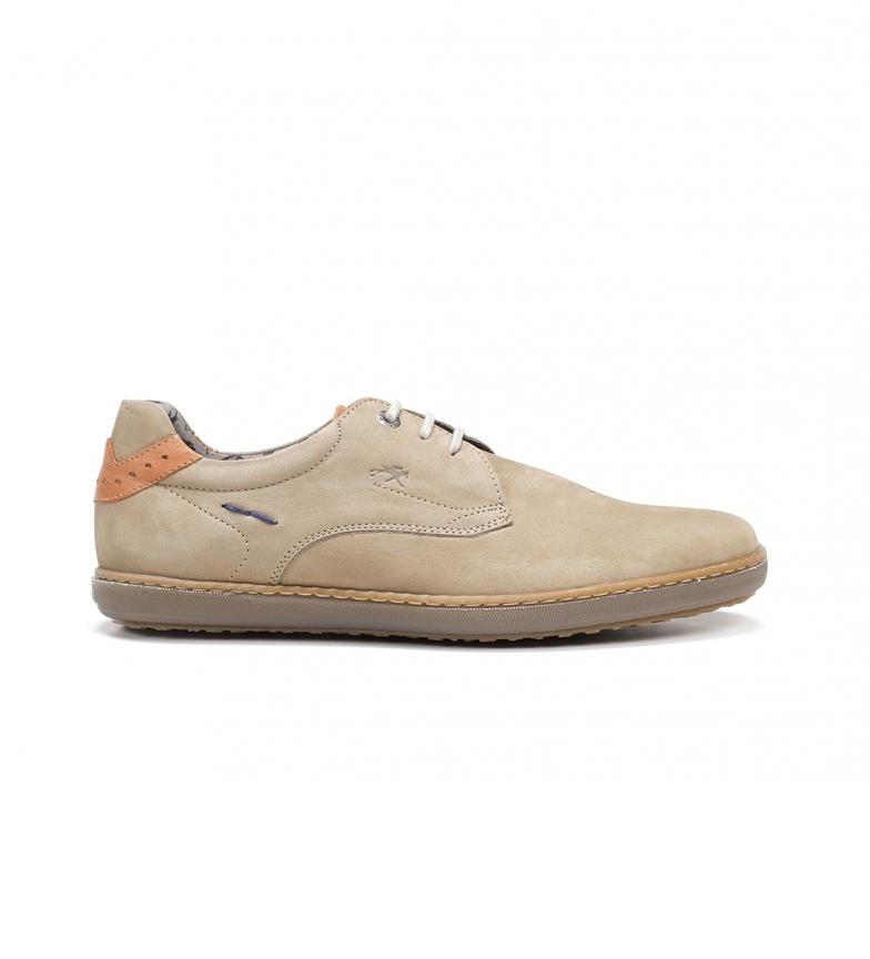 Comprar Fluchos Sapatos de couro Timor F0474 bege