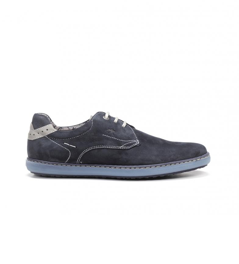Comprar Fluchos Sapatos de couro Timor F0474 Marine