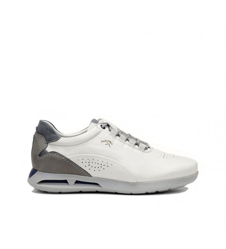 Comprar Fluchos Zapatillas de piel Cypher F0556 blanco