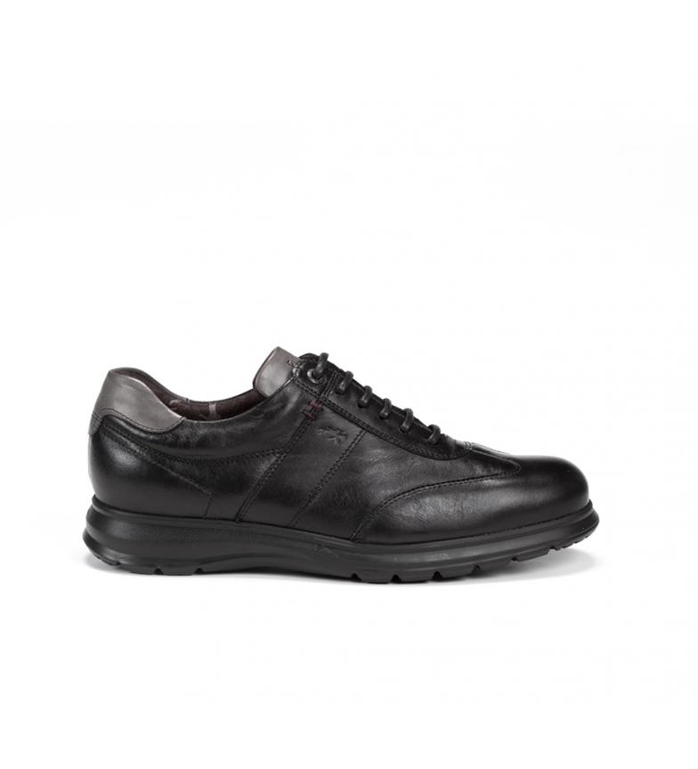 Comprar Fluchos Zapatos de piel Zeta F0607 negro